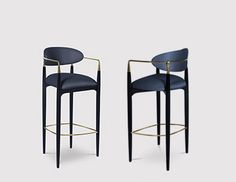 Nahéma Bar/Counter Stool by KOKET #bykoket #kkstealstheshow http://www.bykoket.com/
