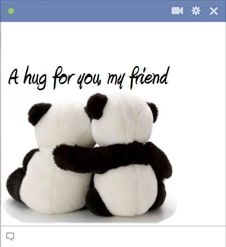 Sympathy hug