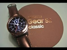 Samsung Gear S2 Classic Unboxing and Setup! - YouTube