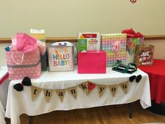 Minnie Mouse Baby Shower