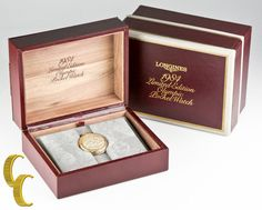 Longines 14k Gold 1984 Limited Edition Olympic Pocket Watch w/ Original Box  #Longines