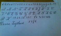 Odborné kreslení-Technické písmo