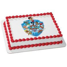Whimsical Practicality Paw Patrol Yelp for Help Edible Cake Icing Image for 8 Round Cake 75 Round Sheet * Continue to the product at the image link.