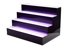 4 #Tier Liquor Shelf #Display LED