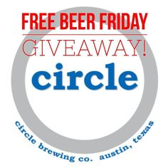 Free Beer Friday! Today we're giving away 2 tickets to the @circlebrew 5 year anniversary party tomorrow.  To qualify you must be 21 and like this post. Sharing with friends and following us earns you extra entries as well! Winner will be announced tonight. Good luck!  #freebeerfriday #circlebrewing #beer #beerme #beergeek  #beersnob #instabeer #beers #craftbeer #txcraftbeer #texascraftbeer #texasbeer #houston #houstonbeer #dfw #dallascraftbeer #dallas #ilovebeer #instabeer #instadfw…