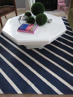 painting a floor rug