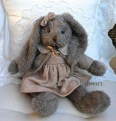 Królik Carmel szary - BelleMaison.pl Shabby Chic, Teddy Bear, Toys, Animals, Home Decor, Activity Toys, Animales, Decoration Home, Animaux