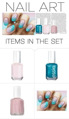 """fall nail art"" by sabrina-cupcake ❤ liked on Polyvore featuring art"