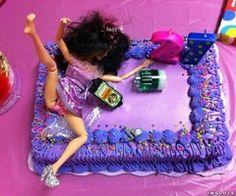 haha 21 birthday cake