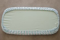 Diy fitted sheet for bassinet -----gonna try this for rv dinette covers-----