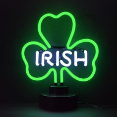 Irish I am ...