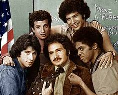 Welcome Back Kotter~This show gave me my first love affair moments with John Travolta as Vinnie Barbarino...he was so hot!