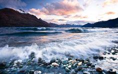 New Zealand picturesque landscapes