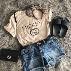 Cute Disney Outfits, Disney World Outfits, Disney Themed Outfits, Cute Outfits, Disney Clothes, Disneyland Outfit Summer, Disneyland Outfits, Disney Villain Shirt, Disney Shirts
