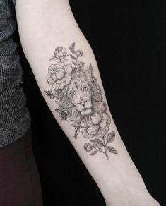 Tattoo lionne signification du signe lion cool idée tatouage animal