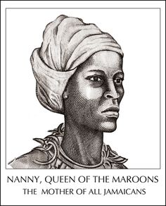 Grandy Nanny was a chieftaness, a leader of Jamaica's Windward Maroons, who successfully waged war with and held off the greatest military power on earth from 1724 to 1739 suffering only one majour defeat in 1734 at Nanny Town when the British, having managed to surprise the Maroons as they slept, fired upon them with portable swivel guns.