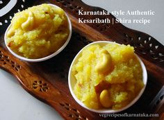 Proudly presenting Karnataka style Kesari bath recipe with step by step pictures. This is a very very popular recipe from the state of Karnataka, India. This is a very simple sweet and is prepared not only as a sweet dish but also for normal breakfasts.