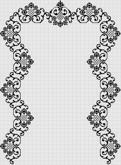 1 million+ Stunning Free Images to Use Anywhere Easy Crochet Patterns, Stitch Patterns, Blackwork, Beaded Embroidery, Embroidery Patterns, Mantel Azul, Peyote Beading Patterns, Thank You Teacher Gifts, Arabesque Pattern