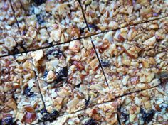 Mutritious Nuffins: 4 Ingredient Almond Bars.