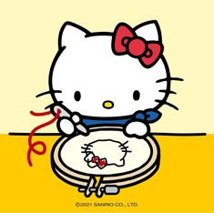 Hello Kitty Imagenes, Sanrio Characters, Fictional Characters, Hello Kitty Pictures, Sanrio Hello Kitty, Cute Illustration, Super Cute, Kawaii, Anime