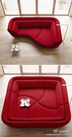 sofa. How cool!! 😎