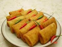 Risolles, one of my favourite Indonesian snacks.