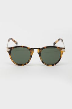 Karen Walker - Vintage Demi Helter Skelter Sunglasses, double hell yah