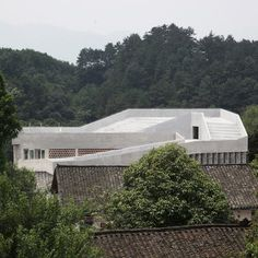 (Pic) This grey-brick hospital in the Chinese village of Angdong is inte...
