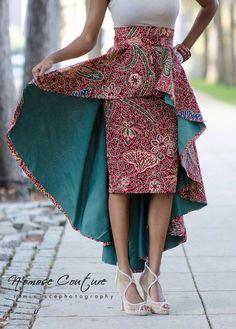 Peplum skirt kebaya