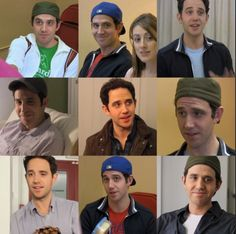 Santino Fontana- I seriously love his Aaron Miller hats❤