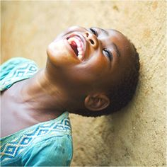 The most beautiful sound, and visual, on earth, is the laughter and smile of a child