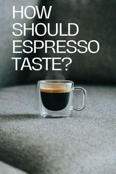 I remember making espresso for the first time. The few extra steps made me a little nervous but what concerned me the most was, how should espresso taste like? If I'm not making the coffee properly, my cappuccino will be off, and my latte will be bitter. Years later, I feel comfortable with answering the question with full confidence. Coffee Cream, Coffee Type, Black Coffee, Best Coffee, Types Of Coffee Beans, Different Types Of Coffee, Fresh Coffee Beans, Espresso At Home, Best Espresso