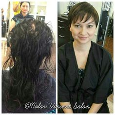 Today's makeover by Maria Arias