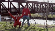 "Now sing along: ""I got a bicycle built for two."" That's the catchy jingle in the old-school rap style short made by Roanoke filmmaker William Sellari, whose team recently has won the Audience Choice award at Portland's Filmed by Bike festival for his entry ""Bb42."" Boater, Community Events, Filmmaking, Portland, Old School, Rap, The Outsiders, Old Things, Bicycle"