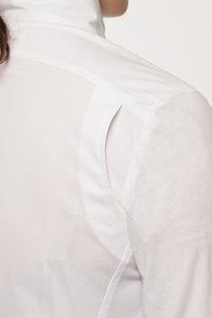 The Marie Shirt - Shoulder Detail €179 Made to Order
