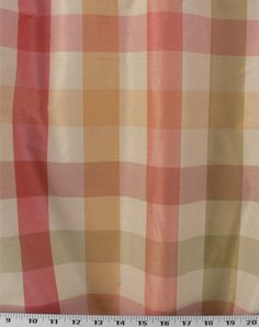 Horston Plaid Sorbet | Online Discount Drapery Fabrics and Upholstery Fabric Superstore!