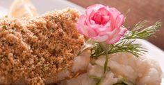 Linguado ao Azeite, com Risoto de Limão, Abobrinha e Crumble de Pão; do Ruella Bistrô (www.ruella.com.br)