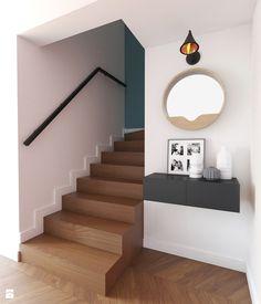Klatka schodowa w stylu mid-century modern - zdjęcie od Boho Studio - Schody - Styl Eklektyczny - Boho Studio