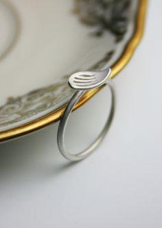Suesse+Silber+Ring+'Wing'+von+dkjewellery+auf+DaWanda.com