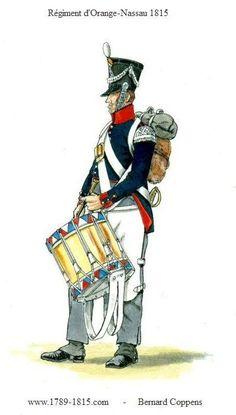 1789-1815 Regiment d'Orange-Nassau