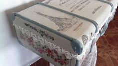 Vintage Koffer - Koffer,Vintage - ein Designerstück von ArtNata bei DaWanda
