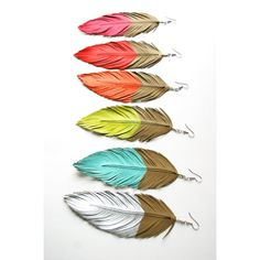wow. dipped leather feathers, yes please.