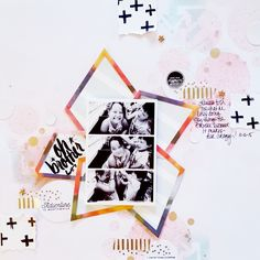 Blog: Tutorial: Using Wink Wink Die-Cuts in your Scrapbook Layout - Scrapbooking Kits, Paper & Supplies, Ideas & More at StudioCalico.com!