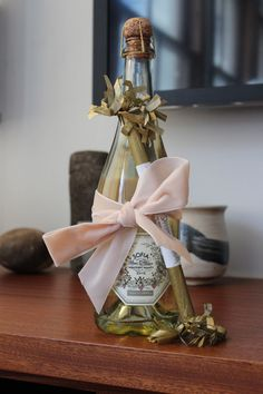 5 Thoughtful Hostess Gifts . sparklers and champagne