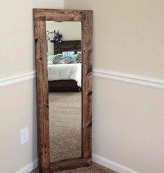 My stand up mirror I made myself !