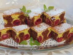 Rozi Erdélyi konyhája Sütemények is part of French toast - Healthy Snacks, French Toast, Cheesecake, Food And Drink, Yummy Food, Baking, Breakfast, Pastries, Animals
