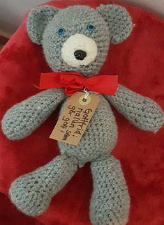 """Teddybear """"Gottfrid"""""""