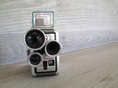 Kodak Brownie Movie Camera 1950s on Etsy from LetterKay for $16