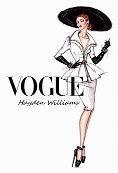 Image result for vogue drawings