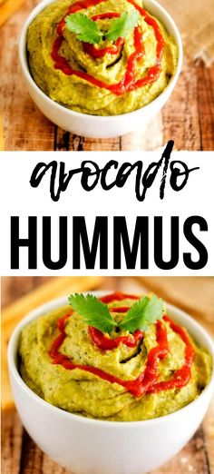 Avocado Hummus is the perfect marriage of two favorites! I am wild about this snack, and I think you will be too. It comes together in a flash. In addition making a great appetizer, it is also fabulous on a sandwich, wrap, and even with Mexican food. This Spicy Avocado Hummus Recipe is good it deserves to become a habit! Hummus Recipe With Tahini, Healthy Hummus Recipe, Healthy Gluten Free Recipes, Vegetarian Recipes, Great Appetizers, Healthy Appetizers, Healthy Snacks, Party Appetizers, Mexican Food Recipes